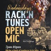 RACK 'n TUNES + OPEN MIC