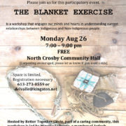 The Blanket Exercise