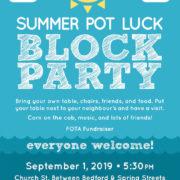 Summer Pot Luck Block Party