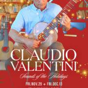 Live Music with Claudio Valentini