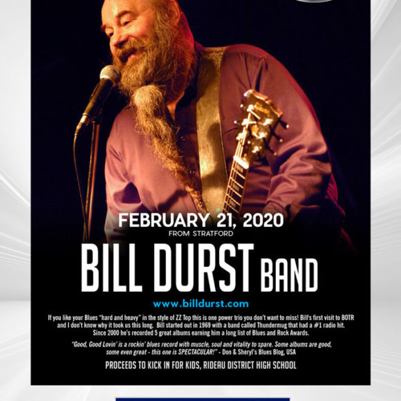 Blues on the Rideau with Bill Durst