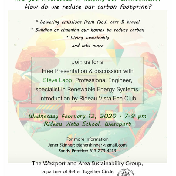 Environmental Presentation with Steve Lapp
