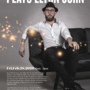 Live Music with Benni Vander (Playing Elton John)
