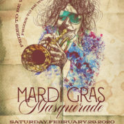 Mardi Gras Parade Band & Costume Party with Spencer Evans Horn Band