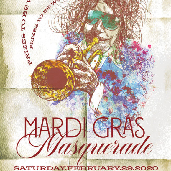 Mardi Gras Masquerade Party with Spencer Evans Horn Band