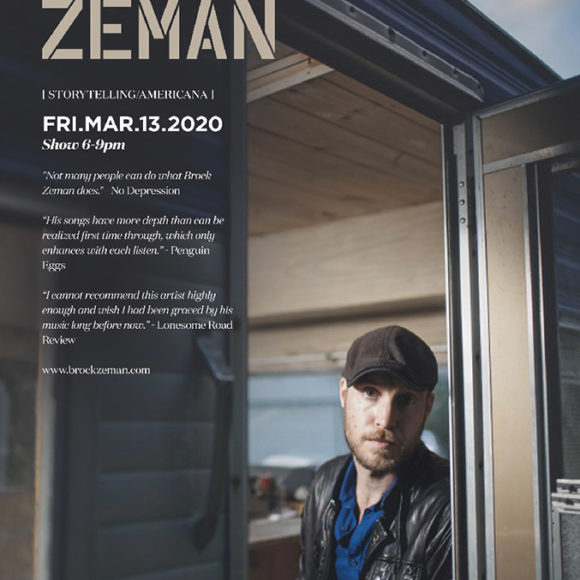 Live Music with Brock Zeman