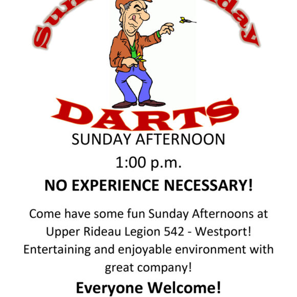 Weekly Sunday Funday Darts