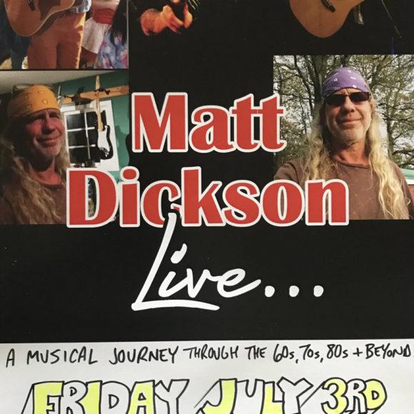Live Music with Matt Dickson