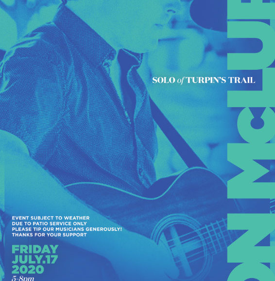 Live Music with Jon McLurg