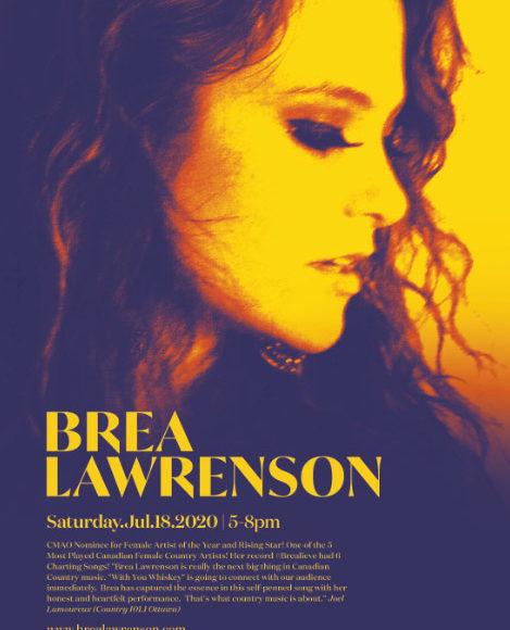Live Music with Brea Lawrenson
