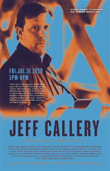 Live Music with Jeff Callery