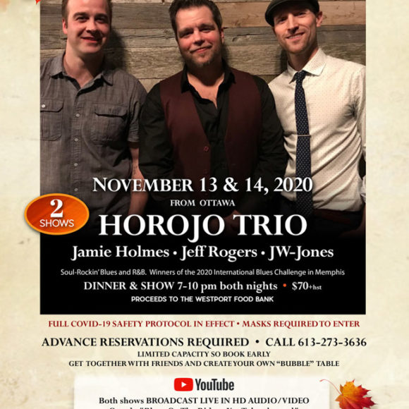 Blues on the Rideau with Horojo Trio