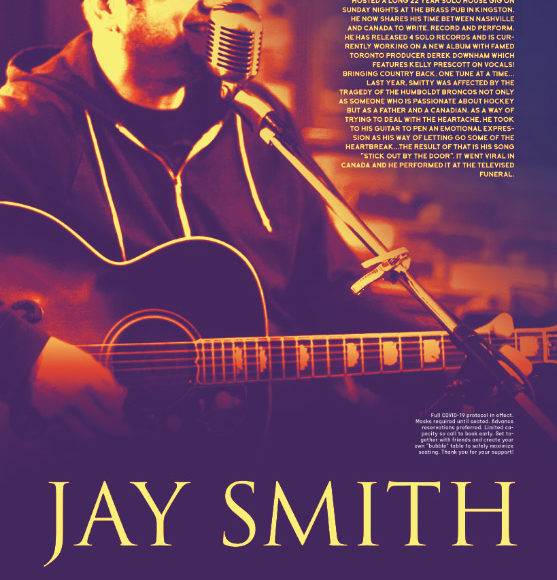"Live Music with Jay Smith (Formerly ""Smitty Kingston"")"
