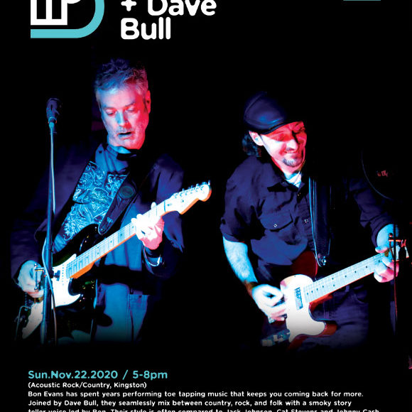 Live Music with Bon Evans + Dave Bull