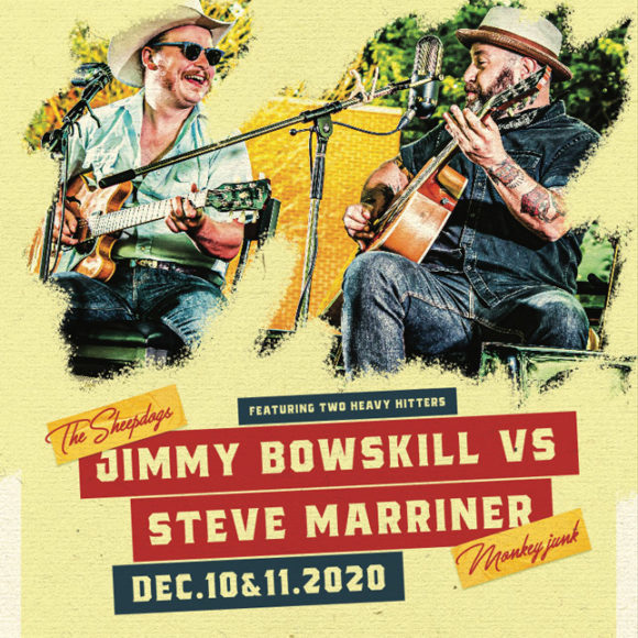 Live Music with Jimmy Bowskill vs. Steve Marriner