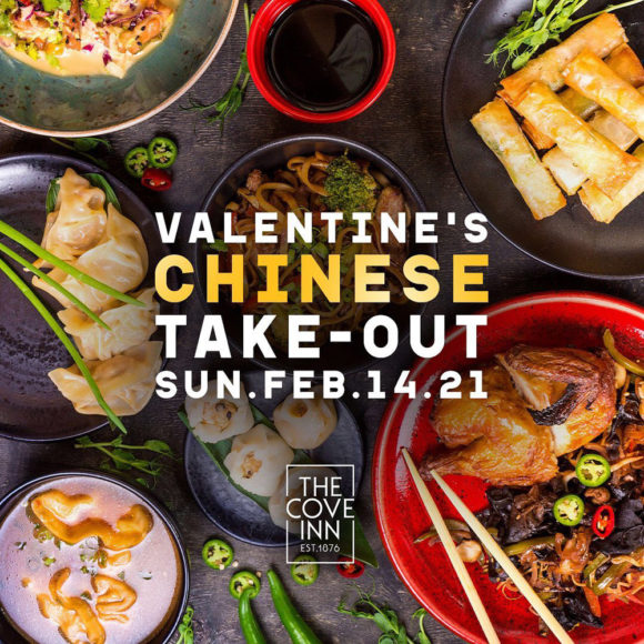 Valentine's Chinese Take-Out at The Cove