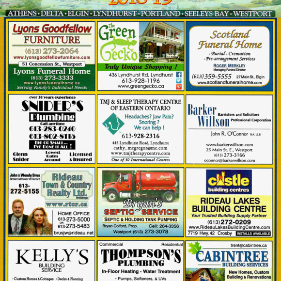 The Wordsmith & Rideau Lakes Directory
