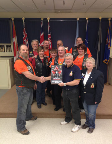 Royal Canadian Legion Upper Rideau Branch 542