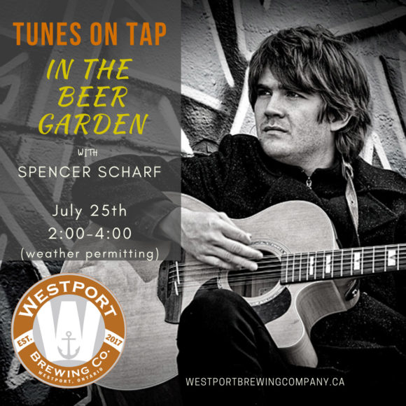 Tunes on Tap with Spencer Scharf
