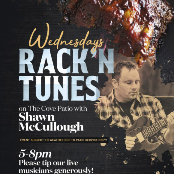 Rack 'n Tunes with Shawn McCullough at The Cove